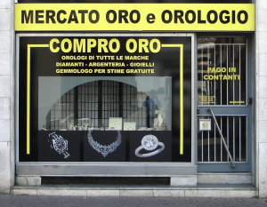 Sälja guld i Italien - Compro oro butik