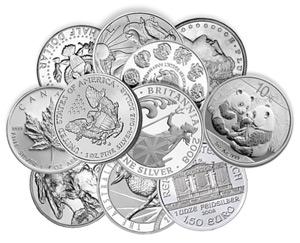 Silver bullion - Mynt för investerare och samlare - Moms