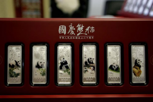 Silver från Kina - Alltid med vackra pandor