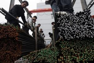 Stål produceras i Kina