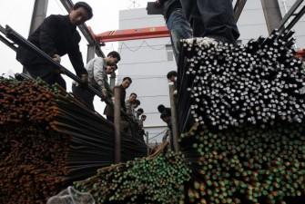 Kinesiska utförsäljningar av stål