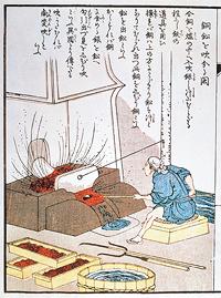 Sumitomo's orginalmetod för utvinning av koppar.