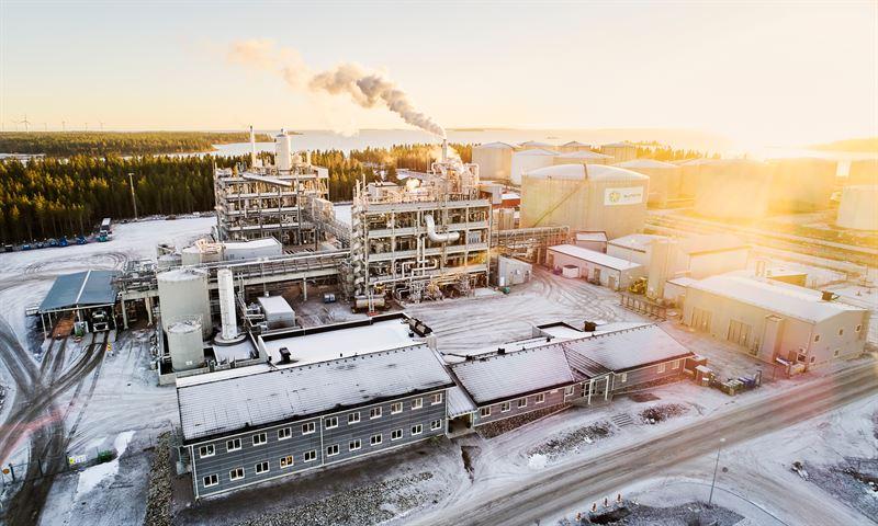 Sunpines fabrik för diesel i Piteå.