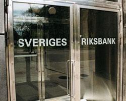 Sveriges Riksbank sålde guld år 2004