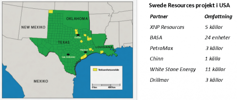 Swede Resources projekt i USA