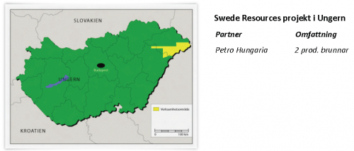 Swede Resources projekt i Ungern