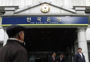 Sydkoreas centralbank köper guld