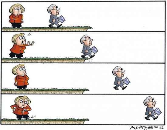 Tyskland och Grekland i krisen