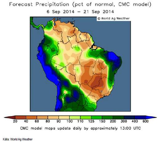 Väder Brasilien