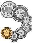Valutakurs CHF SEK, schweiziska frank mot svensk krona