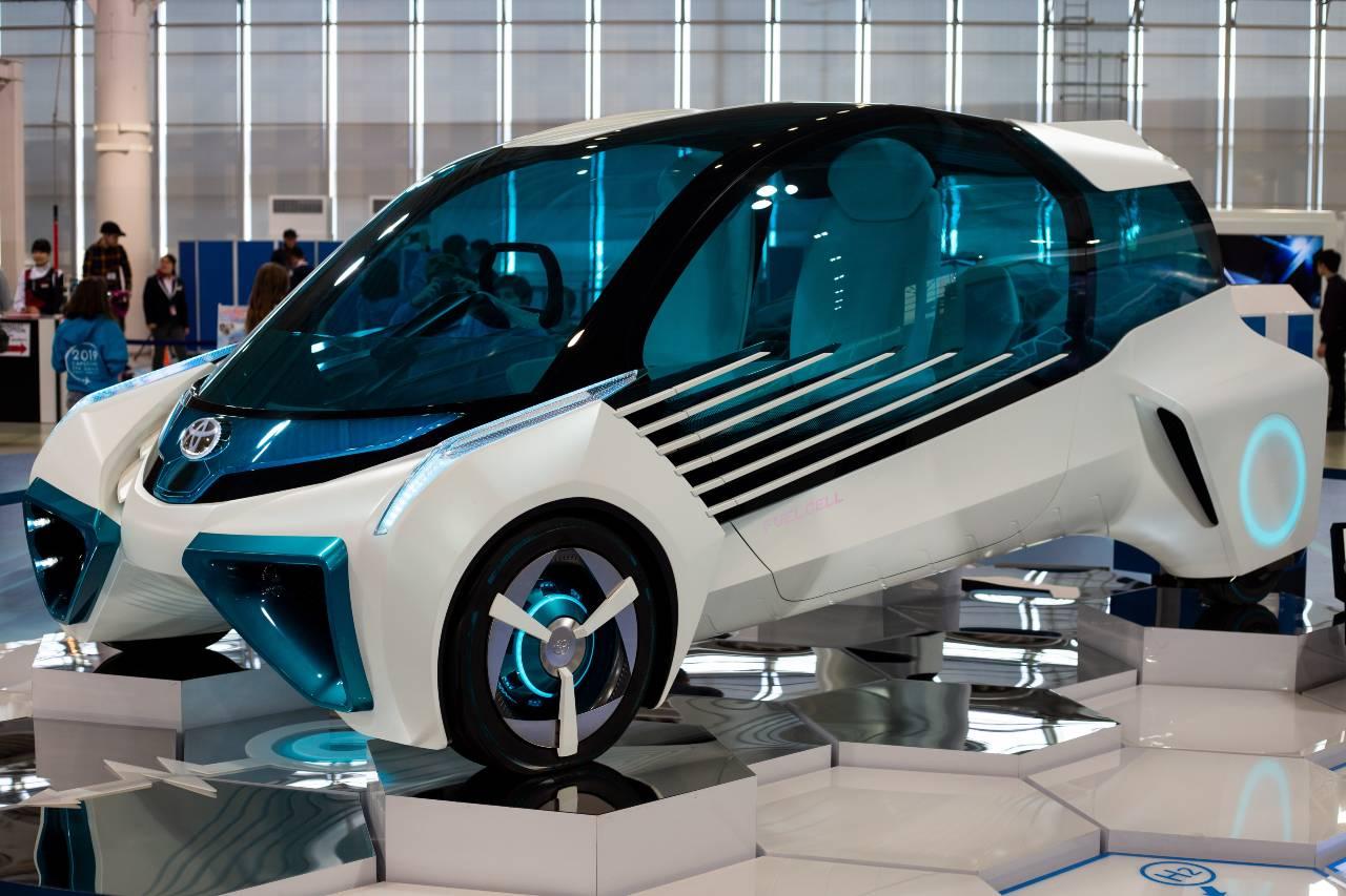 Bil som går på vätgas