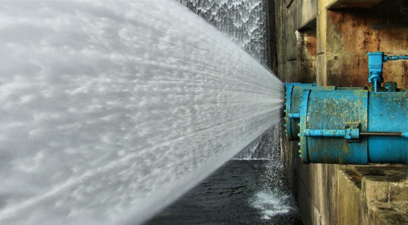 Vattenkraft ger energi