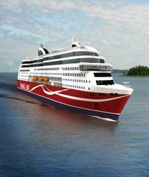 Viking Line börjar använda flytande naturgas (LNG)