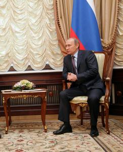 Vladimir Putin beroende av oljepriset