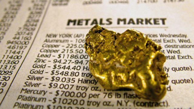 Aktier Guld