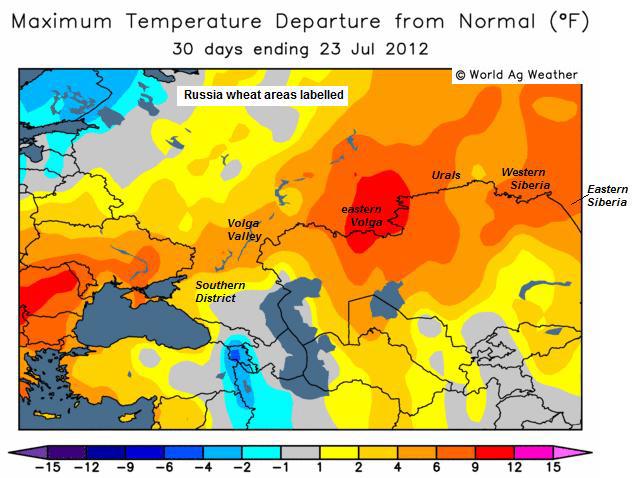 väder europa karta SEB Jordbruksprodukter, 2 augusti 2012 väder europa karta