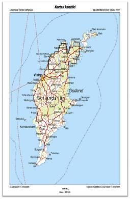 norra gotland karta Gotländsk olja inför borrstart norra gotland karta